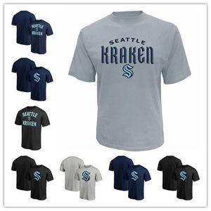 2020 equipo de hockey sobre hielo Nueva Seattle Kraken Camiseta Jersey El nuevo equipo 32th Impreso mejor calidad