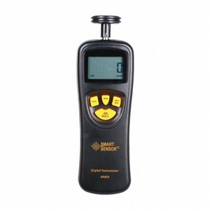 Digital Display Medição de Alta Precisão Laser tacômetro com Tipo de contato Shimar AR-925 Tachometer vegZ #