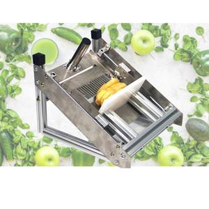 1PC inoxidable máquina de cortar de onda de acero, de la máquina de la fruta ondulada Slicer, patatas manuales de corte, rábano, pepino, corrugación máquina de corte