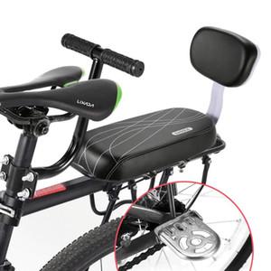 Sap Kolçak Footrest Pedal Bebekler Bisiklet Geri Saddle ile Bisiklet Güvenlik Arka Koltuk için 3pcs / Seti Bisiklet Saddle Çocuk Geri Koltuk