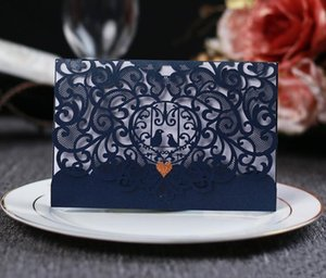 Card Elegant Laser Postcard Wedding Bird Cut Love Cards Engagement Invitation Greeting xhhair tvnLs