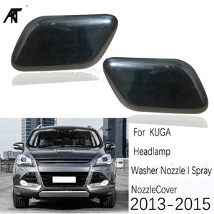 Nozzle cover For Escape Kuga 2013 2014 2020 2020 Front headLight head lamp Washer Nozzle Spray Jet Cover House Cap Housing