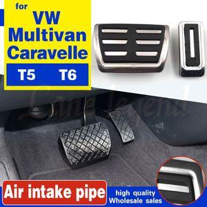Pedal Kit para VW Multivan T5 T6 Caravelle T6 Acessórios de Aço Inoxidável Pedais de Freio