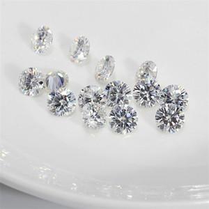 Farbe IJ Original Lose Moissanite Diamant-Test positiv Stein für Ringe Ohrringe Anhänger Brilliant immer mit Zertifikat