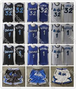 Magie rétro pour enfantsOrlandoChemises Mitchell Ness Penny 1 Tracy Hardaway McGrady Classics Authentique Basketball Jerseys Jersey Shirts Jeunesse
