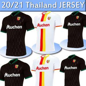2021 RC de l'objectif de football Gradit Perez Cahuzac Fortes jersey 20 21 RC Lens pied maillot de Camisa de futebol Maillots de football Hommes Thail