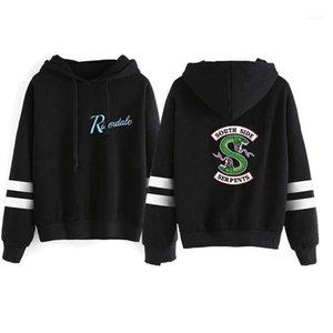 Lettre imprimé animal lambrissé Hommes Hoodies hommes Vêtements décontractés Riverdale Marque Hommes Designer Fashion Sweats à capuche en vrac