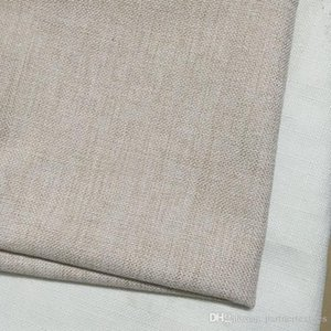 16 inches poly linen pillow case blanks polyester burlap pillow cover blank polyester cushion cover with natural linen look