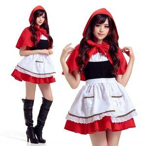 spade giapponesi giorno Acting Little Red Hat Cappuccetto Rosso di ruolo cosplay abbigliamento abbigliamento Natale