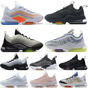 off white max zm950 950 950s 2020 Hombres Mujeres Zapatos deportivos para correr al aire libre Blanco Colorido Gris Neón Núcleo limpio Zapatillas de deporte 36-45