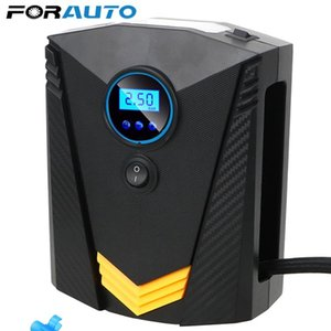 Portable 150PSI Car Tire Inflator Digital Screen Air Compressor Pump with LED Light DC12V Pump for Car Motorcycle