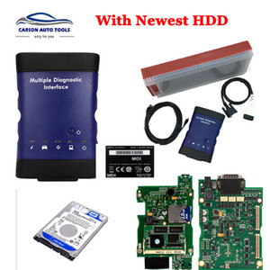 G-M MDI Multiple Diagnostic Interface MDI SQU WIFI card Multi-Language Scanner Newest Software HDD for sale