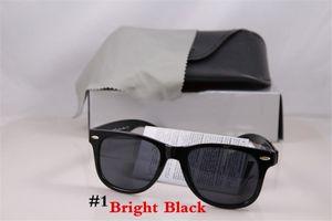 Caja piloto Banda protección UV400 de la vendimia clásico de la manera marca de gafas de sol Hombres Mujeres Sun Gafas de diseño Gafas de sol con la caja del paño