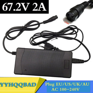 67.2V 2A Li-ion Battery Charger for 16S 60V e-bike electric bicycle Wheelbarrow Electric self balancing unicycle scooter Charger