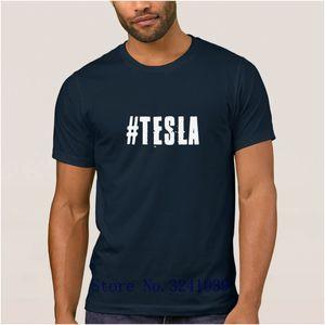 Anlarach personalized Funny tesla t shirt cartoon summer Nikola Tesla Shrits Basic mens t-shirt mens Short Sleeve tshirt for men