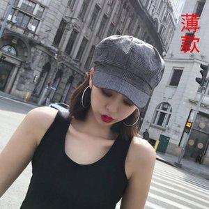 New autumn and winter hat ladies warm octagonal hat wild beret fashion trendy painter wholesale