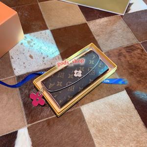 Louis Vuitton LV Wallet 2020 클래식 인간형 패턴 지갑 여성 퀼팅 가죽 사각형 적용 대상 지갑