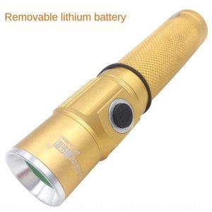 campamento directo con clip de la pluma de oro mini linterna portátil tuhao mini linterna