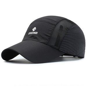 U5dYZ deportes al aire libre de béisbol gorra de béisbol en punta verano respirable ultrafino de secado rápido de los hombres de malla sombrero al aire libre de protección s Sun Sports