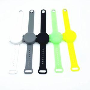 10 colori veloce braccialetto in silicone Delievery Bracciali disinfettante in silicone con Bracciale Silicone Gel Igienizzante DHD1323
