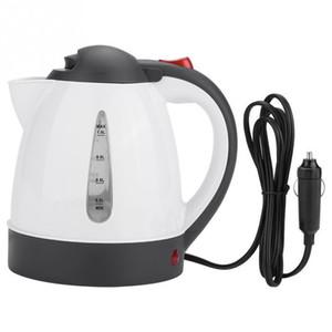 Cgjxs24v / 12v 1000ml eléctrica Caldera de agua caliente del calentador Chaleira Waterkoker Automóviles Viajes Para preparar té café acero inoxidable 304 Czajnik T190619