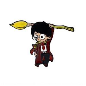 Film et TV vente à chaud périphérique New Harry Broche dessin animé caractère mignon insigne de badge