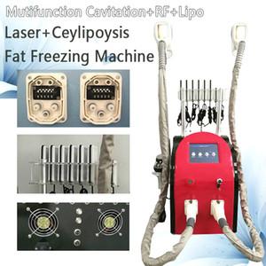 Ультразвуковая липосакция 40K кавитация тела машины Уменьшение жира Вакуумная Целлюлит Кавитация Lipo лазерный Zeltiq тела РФ Вакуумный массаж
