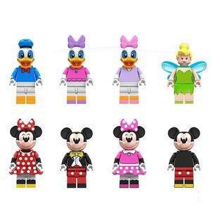 كارتون الأطفال التعليمية البسيطة Minifig لبنة بناء كتل هدية لعب الأطفال