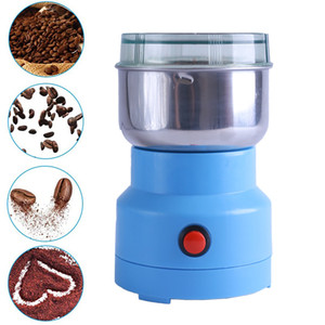 Многофункциональный Smash Machine Electric Cofteber Beannerut Spice Planting Бытовая Mini Coffee Charmers 220V / 110V