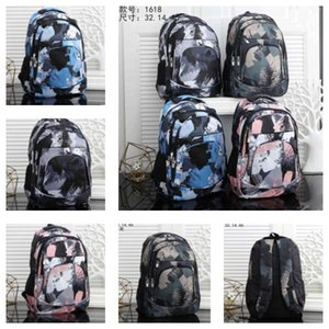 Camouflage backpack large capacity versatile student school bag men and women personality travel sports leisure fashion backpack