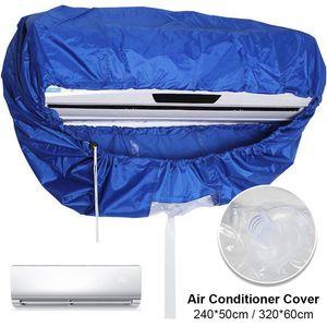 Lavado a prueba de agua del acondicionador de aire cubierta del estuche protector Aire acondicionado Organizador anti limpieza del polvo cubierta de bolsa Cleaner Bags CX200822