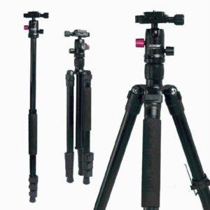 ZOMEI M3 alluminio Staffa Camera Tripod leggero selfie Stick Tripode monopiede per Smartphone DSLR Photo Studio