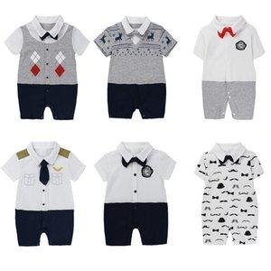 KIDS TALES Kleidung Neugeborenen verbunden Sommer klettern männlich Trikot Herr Babyoverall Außenhandel