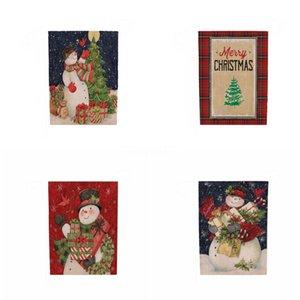 Bordado Bandeira Decorações de Natal Tassel Toalha de Mesa de Natal Sala de Estar da tabela do Natal oco Out Toalha Factory Direct # 285
