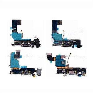 Usb conector Dock de carga Para el puerto Flex Cable Iphone 4 / 4s 5s 5 5c 6 Plus USB enchufe del cargador cable de la flexión de reparación de piezas