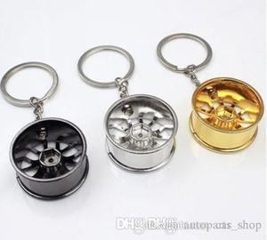 سلسلة عجلة ريم سلسلة المفاتيح الإبداعية السيارات الجزء السيارات كيرينغ مفتاح الدائري الموجودة في قاعدة المفتاح حامل