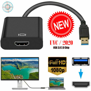New HD 1080P HDMI to USB HD 1080P HDMI to USB 3.0 Video Cable Adapter Converter For PC Laptop HDTV LCD TV
