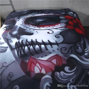 Bedroom Decor 3 PCS Bedding Set Twin queen king Size Beauty Skull Pattern Bedclothes Duvet Cover Set Included Comforter Cover Pillowcases