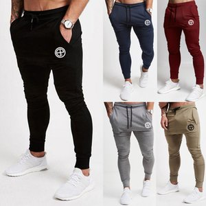 Men Slim Fit Tracksuit Jogger Sports Gym Bodybuilding Running Track Trousers Sweatpants Skinny Jogging Joggers Sweat Pants