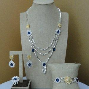 Joyería de fantasía Dubai Yuminglai collar artificial Conjuntos para Mujeres FHK7222 fIpZ #