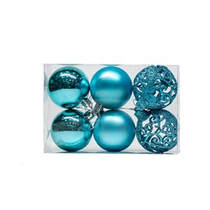 2020 Lovely Pretty Christmas Hanging Ornaments Plastic Christmas Decoration Ball