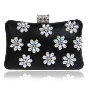 Diamonds Designer-messaggero delle donne donne borse del fiore in rilievo Strass sera Borse miste 5 colori per i sacchetti del partito di sera