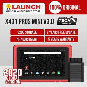 발사 X431은 프로 미니 OBD2 스캐너 OBD OBD2 와이파이 블루투스 진단 도구 자동차 검사 도구 키 프로그래밍 PK X431 V 8 PRO 프로