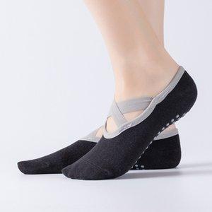 Hengju Quer Boot board Balletttanz Yoga rutschfest atmungs Covered backless Fußbodensocken Sportboot Socken