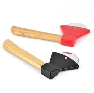 Круглый средний торт ножи бамбуковая стебель пицца прочный торт выпечки красный черный нож кухонные принадлежности оригинальность 3 8Hc f2