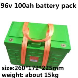 GTK high capacity 96V 100Ah Lifepo4 battery pack with strong BMS for motorcycle golf cart and tour car+10A Charger