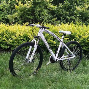 26 inch one-wheel high carbon steel mountain bike single wheel disc brake bicycle male and female adult variable speed frame bicycle