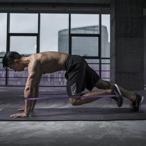 Bandes d'exercice Pilates Fit Simplifier Flexbands Thérapie Stretching 208cm Latex musculation sac de transport de la famille Pull boucle