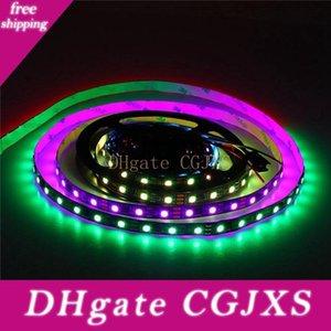 RGB LED 스트립 라이트 32 .8ft Ws2811 번지 프로그래밍 드림 컬러 디지털 LED 픽셀 라이트 24V 10m 600 개의 LED 무지개 효과 주도 쫓는