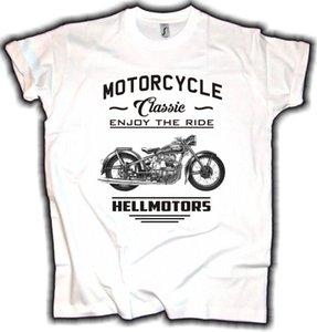 2020 caliente venta de la manera Camiseta del motorista Awo Alemania Oldtimer clásico de la motocicleta Rocker Oldschool Tee
